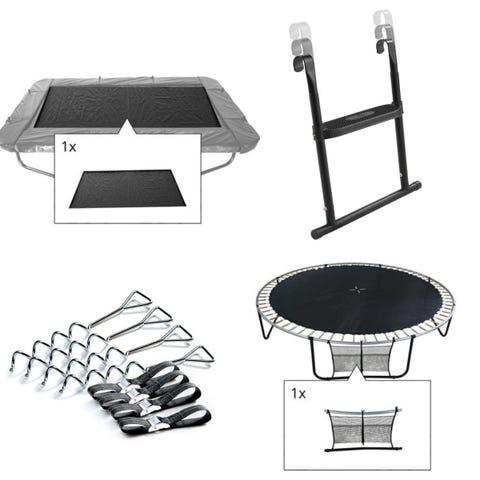 12ft x 8ft Rectangular Four Piece Trampoline Accessory Kit