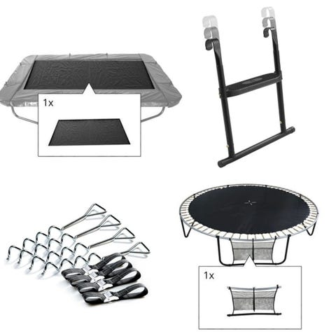 10ft x 7ft Rectangular Four Piece Trampoline Accessory Kit